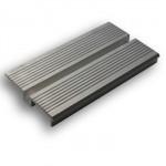 REA172 Soleira de alumínio de 1 canal
