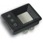 KON202 Botão de chamada liso, 3 leds 60 volts preto