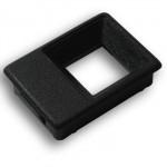 KON210 Corpo do botão de chamada sem furo preto