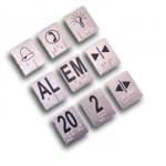 CLL748 Etiqueta Braille em inóx para botoeiras (24 x 28mm)