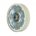 OTI920 Roldana de nylon/ferro para suspensão de porta 70mm