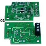 Placa para botão Cllovi 01 (Qd. Eletrônico) ……………………Placa para botão Cllovi 02 (Qd. IFL 750) ………………………